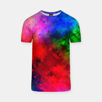 Thumbnail image of Explosive colors Tshirt, Live Heroes