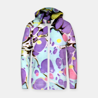 Thumbnail image of Surprise | Psychedelic Fluid Marbled Abstract |   Zip up hoodie, Live Heroes