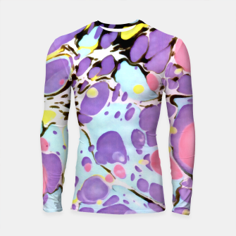 Thumbnail image of Surprise | Psychedelic Fluid Marbled Abstract |   Longsleeve rashguard , Live Heroes