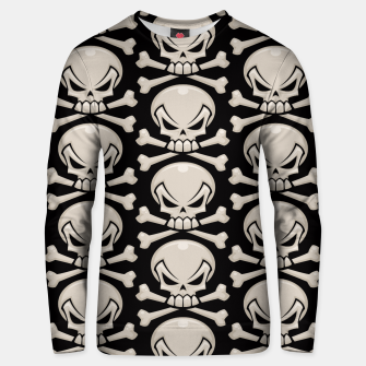 Thumbnail image of Skull and Crossbones Pattern Unisex sweater, Live Heroes