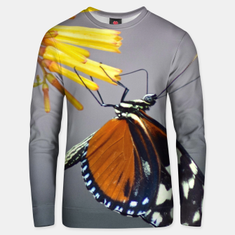 Thumbnail image of Tiger Longwing Butterfly Unisex sweater, Live Heroes