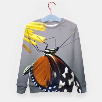 Thumbnail image of Tiger Longwing Butterfly Kid's sweater, Live Heroes