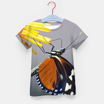 Thumbnail image of Tiger Longwing Butterfly Kid's t-shirt, Live Heroes