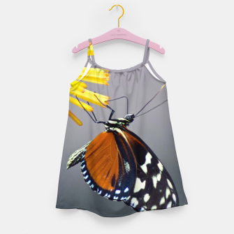 Thumbnail image of Tiger Longwing Butterfly Girl's dress, Live Heroes