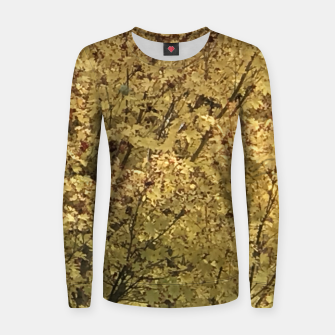 Thumbnail image of Fall Colors Women sweater, Live Heroes
