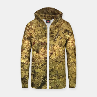 Thumbnail image of Fall Colors Zip up hoodie, Live Heroes