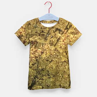 Thumbnail image of Fall Colors Kid's t-shirt, Live Heroes