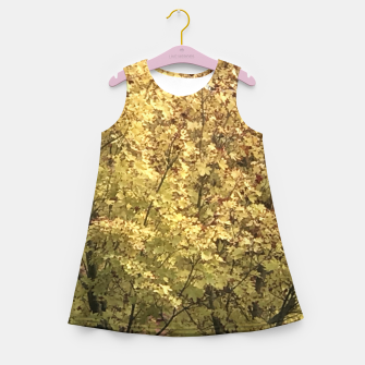 Thumbnail image of Fall Colors Girl's summer dress, Live Heroes