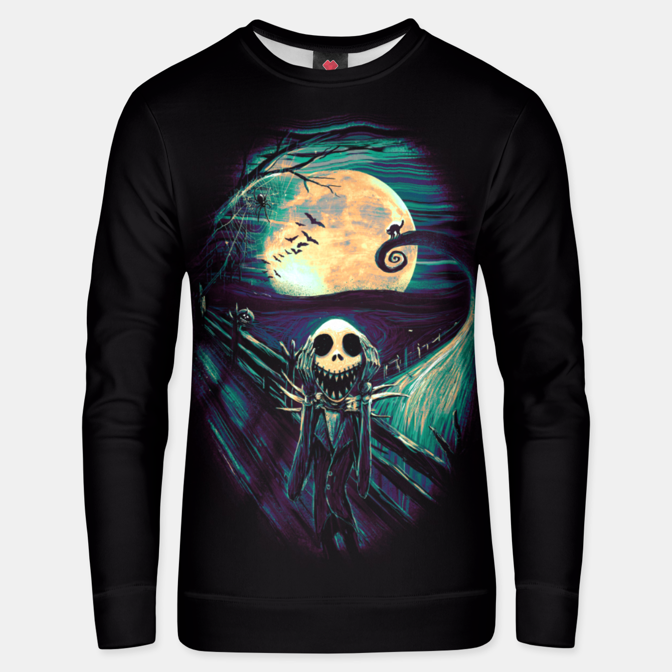 Image of The Scream Before Christmas Unisex sweater - Live Heroes