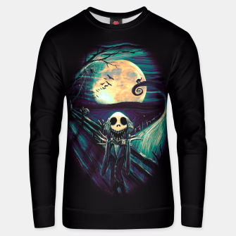 Thumbnail image of The Scream Before Christmas Unisex sweater, Live Heroes