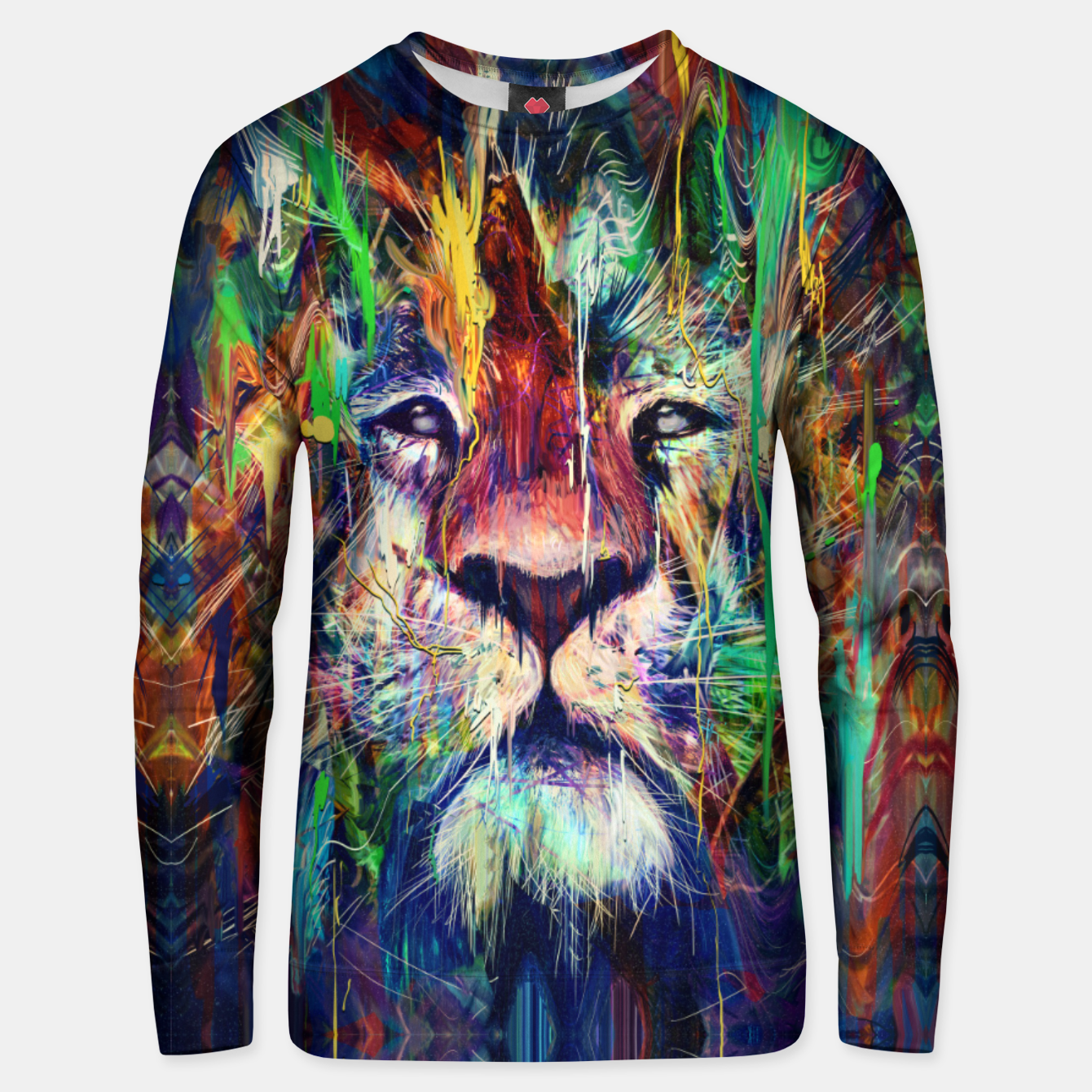 Image of Lion Unisex sweater - Live Heroes