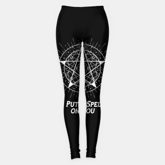 Thumbnail image of I PUT A SPELL ON YOU Leggings, Live Heroes