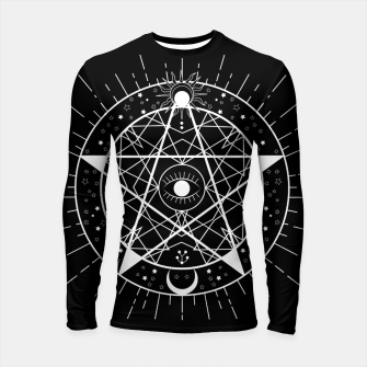 Thumbnail image of I PUT A SPELL ON YOU Longsleeve rashguard, Live Heroes