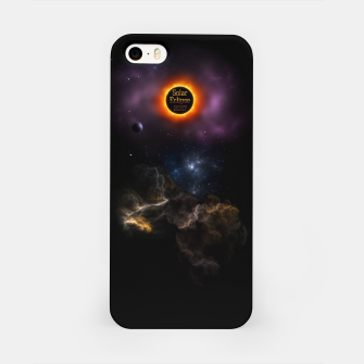 Thumbnail image of Solar Eclipse 2017 Nebula Bloom iPhone Case, Live Heroes