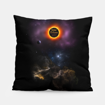 Thumbnail image of Solar Eclipse 2017 Nebula Bloom Pillow, Live Heroes