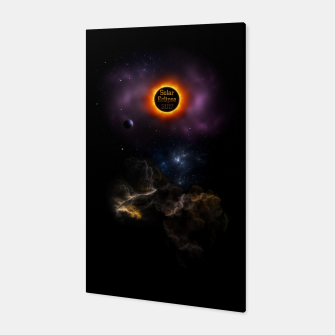 Thumbnail image of Solar Eclipse 2017 Nebula Bloom Canvas, Live Heroes