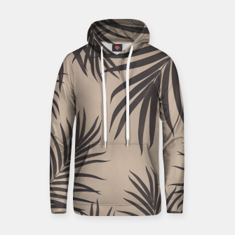 Thumbnail image of Palm Leaves Pattern Sepia Vibes #1 #tropical #decor #art Kapuzenpullover, Live Heroes