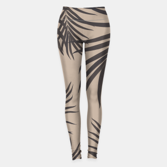 Thumbnail image of Palm Leaves Pattern Sepia Vibes #1 #tropical #decor #art Leggings, Live Heroes