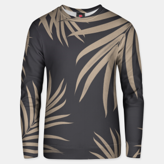 Thumbnail image of Palm Leaves Pattern Sepia Vibes #2 #tropical #decor #art  Unisex sweatshirt, Live Heroes