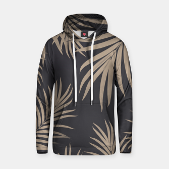 Thumbnail image of Palm Leaves Pattern Sepia Vibes #2 #tropical #decor #art  Kapuzenpullover, Live Heroes