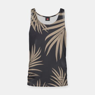 Thumbnail image of Palm Leaves Pattern Sepia Vibes #2 #tropical #decor #art  Muskelshirt , Live Heroes