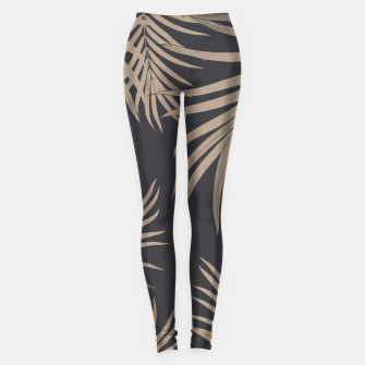 Thumbnail image of Palm Leaves Pattern Sepia Vibes #2 #tropical #decor #art  Leggings, Live Heroes