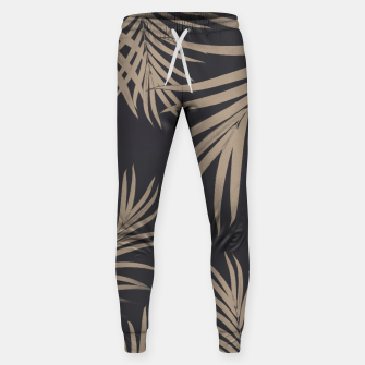 Thumbnail image of Palm Leaves Pattern Sepia Vibes #2 #tropical #decor #art  Hosen, Live Heroes