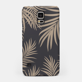 Thumbnail image of Palm Leaves Pattern Sepia Vibes #2 #tropical #decor #art  Handyhülle für Samsung, Live Heroes