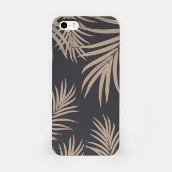 Thumbnail image of Palm Leaves Pattern Sepia Vibes #2 #tropical #decor #art  iPhone-Hülle, Live Heroes