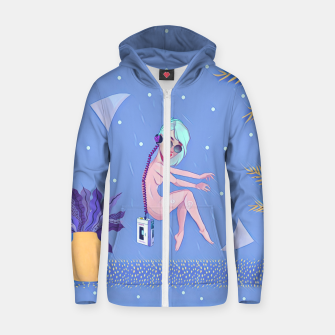 Thumbnail image of Music Love Zip up hoodie, Live Heroes
