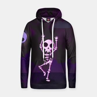 Thumbnail image of Halloween skeleton Bluza z kapturem, Live Heroes