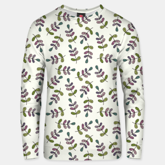 Thumbnail image of Handdrawn leaves pattern Sudadera unisex, Live Heroes