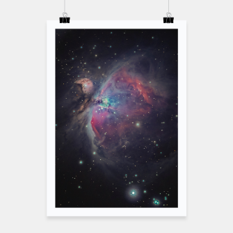 Orion Nebula Plakat miniature