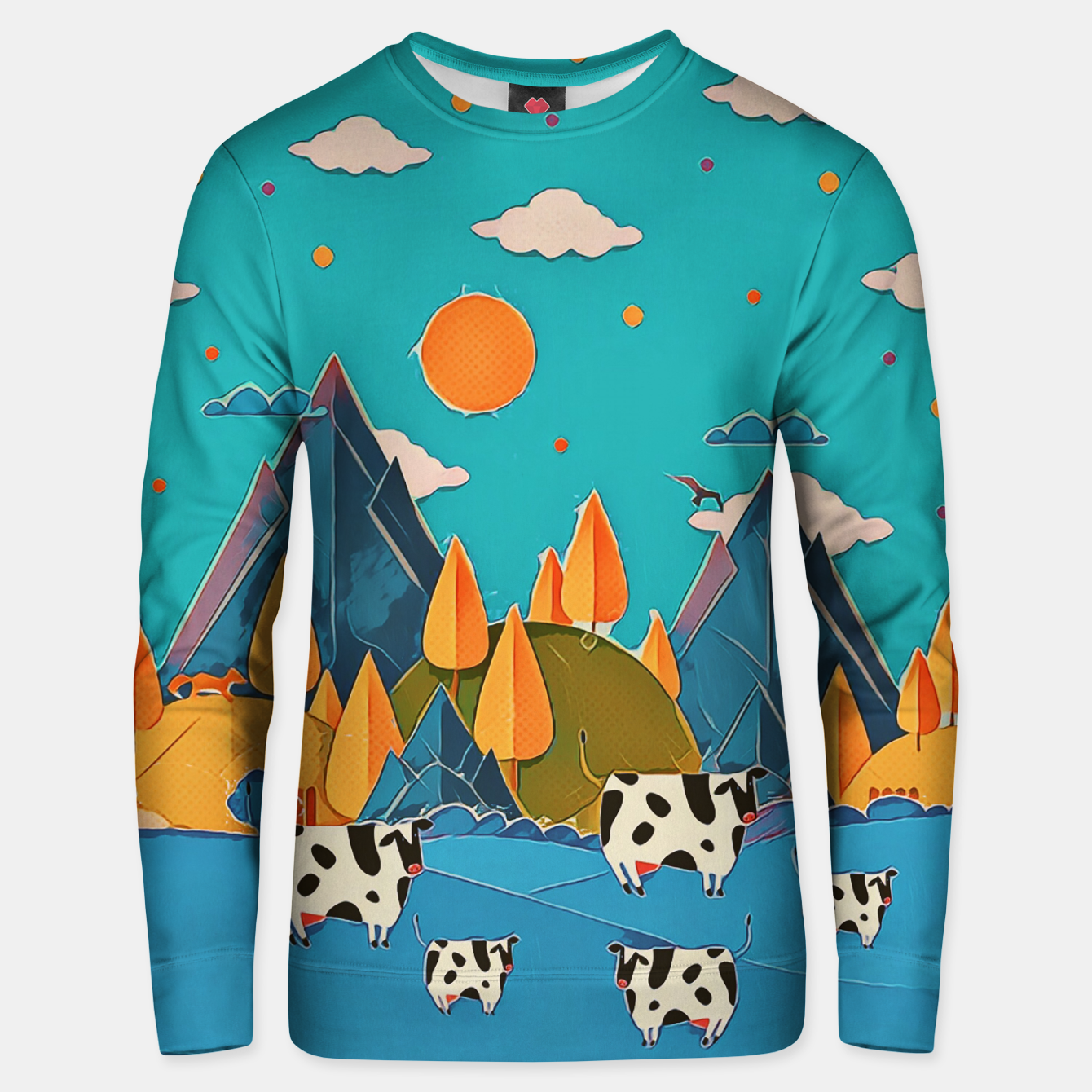 Image of Cows Unisex sweater - Live Heroes