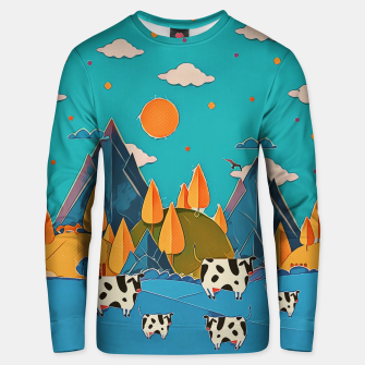 Thumbnail image of Cows Unisex sweater, Live Heroes