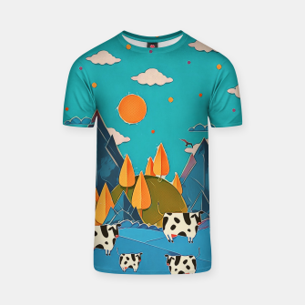 Thumbnail image of Cows T-shirt, Live Heroes