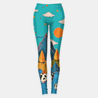 Thumbnail image of Cows Leggings, Live Heroes