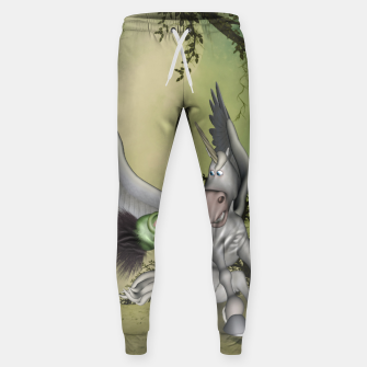 Thumbnail image of Cute bird with funny horse Sweatpants, Live Heroes