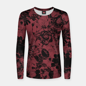 Thumbnail image of DARK SKULLS Women sweater, Live Heroes