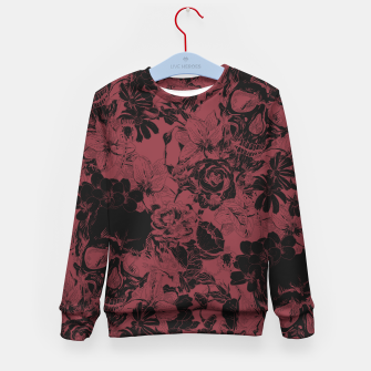 Thumbnail image of DARK SKULLS Kid's sweater, Live Heroes