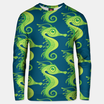 Thumbnail image of Leafy Sea Dragon Seahorse Pattern Unisex sweater, Live Heroes