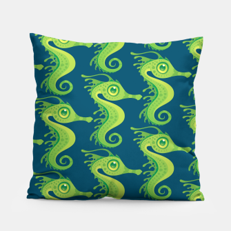 Thumbnail image of Leafy Sea Dragon Seahorse Pattern Pillow, Live Heroes
