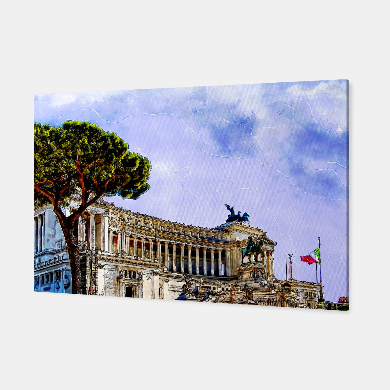 Image of Rome art #rome #italy Canvas - Live Heroes