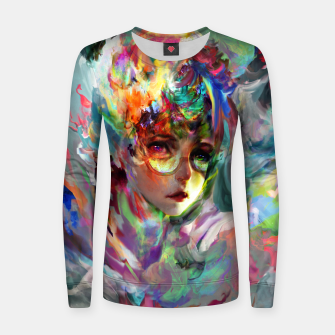 Thumbnail image of little witch  Women sweater, Live Heroes