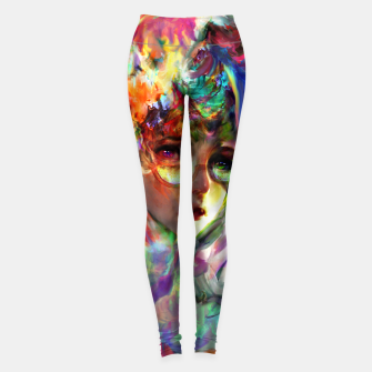 Thumbnail image of little witch  Leggings, Live Heroes