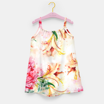 Thumbnail image of Peony Floral Girl's dress, Live Heroes