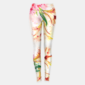 Thumbnail image of Peony Floral Leggings, Live Heroes