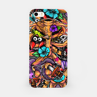 Doodle Bones iPhone Case miniature