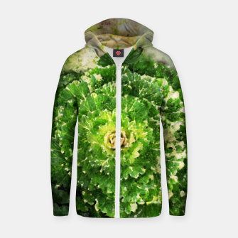 Thumbnail image of Green Zone Zip up hoodie, Live Heroes