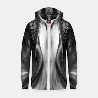 ABDP Apstract Digital Pencil Zip up hoodie